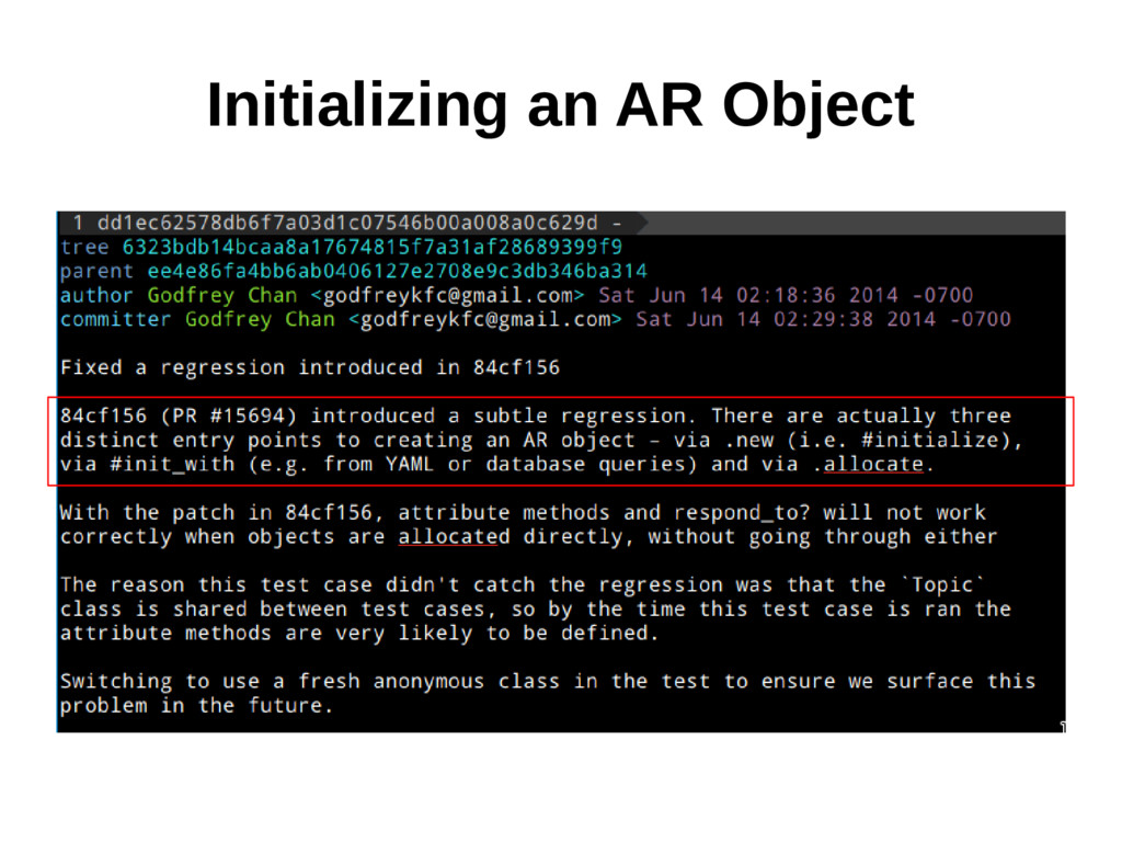Initializing an AR Object