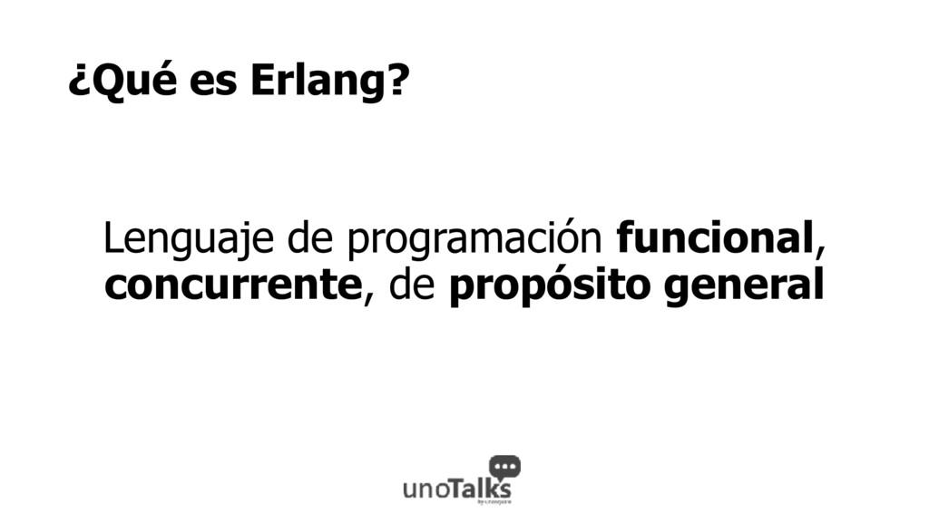 ¿Qué es Erlang? Lenguaje de programación funcio...