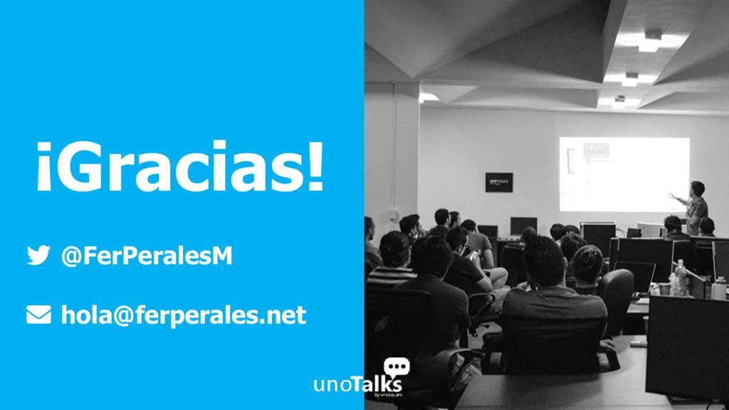 ¡Gracias! @FerPeralesM hola@ferperales.net