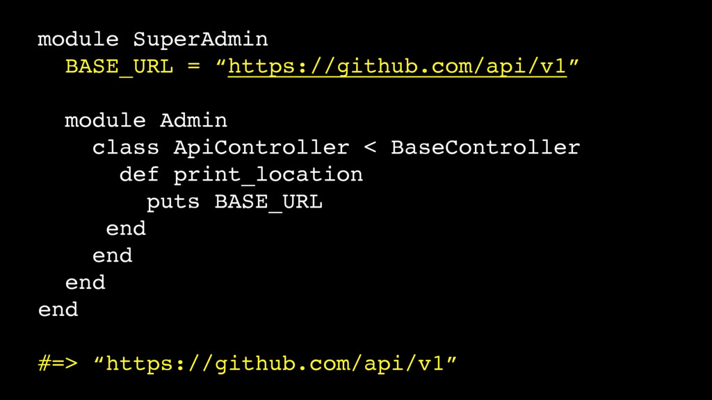 "module SuperAdmin BASE_URL = ""https://github.co..."