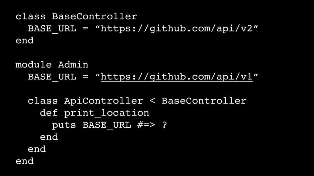 "class BaseController BASE_URL = ""https://github..."