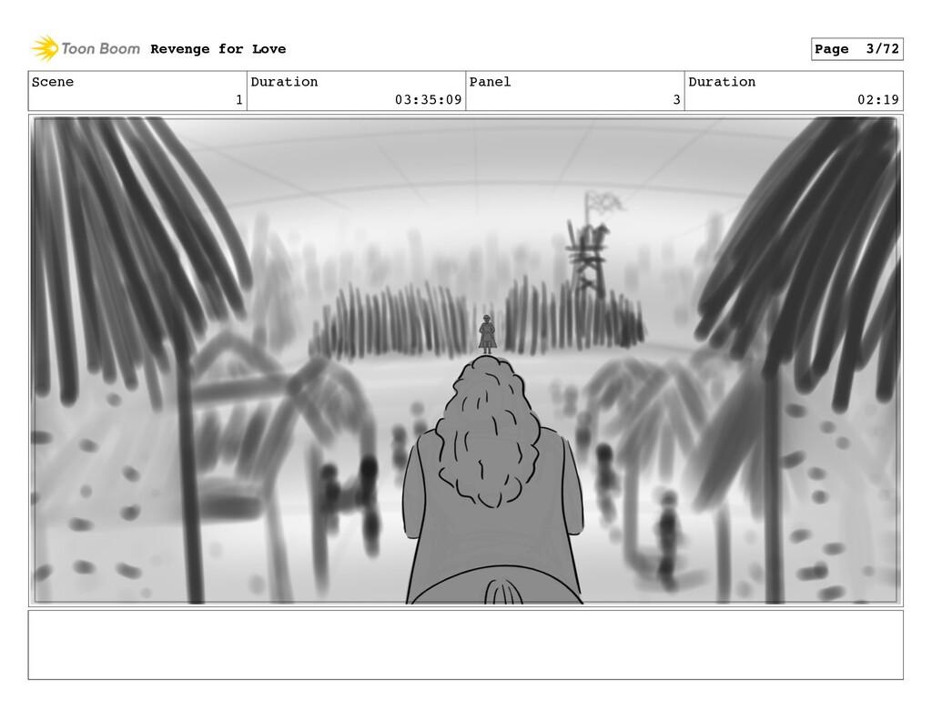 Scene 1 Duration 03:35:09 Panel 3 Duration 02:1...