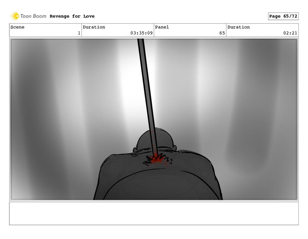 Scene 1 Duration 03:35:09 Panel 65 Duration 02:...