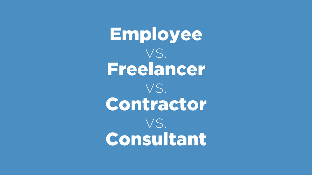 Employee vs.