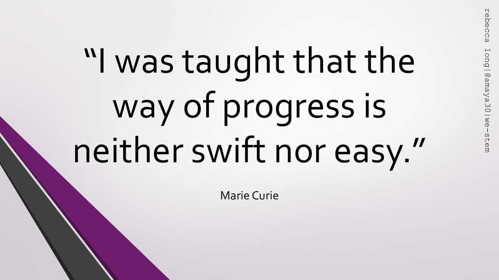 """"""" """" """"I was taught that the way of progress is n..."""