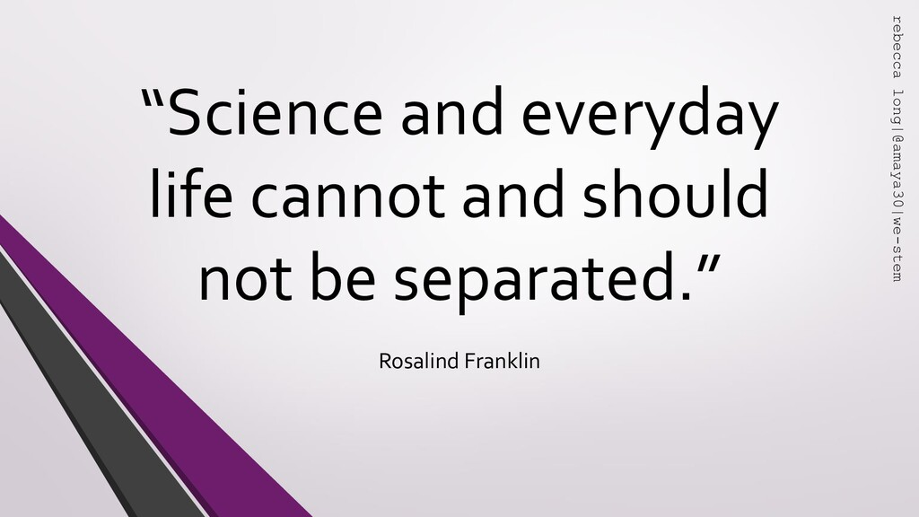 """"""" """" """"Science and everyday life cannot and shoul..."""