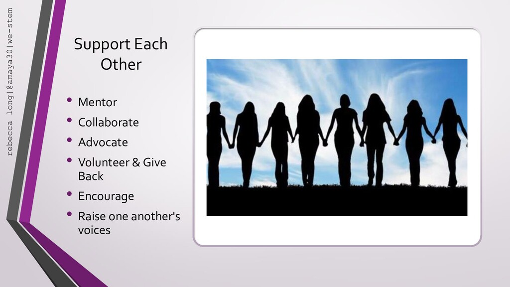 Support Each Other • Mentor • Collaborate • Adv...