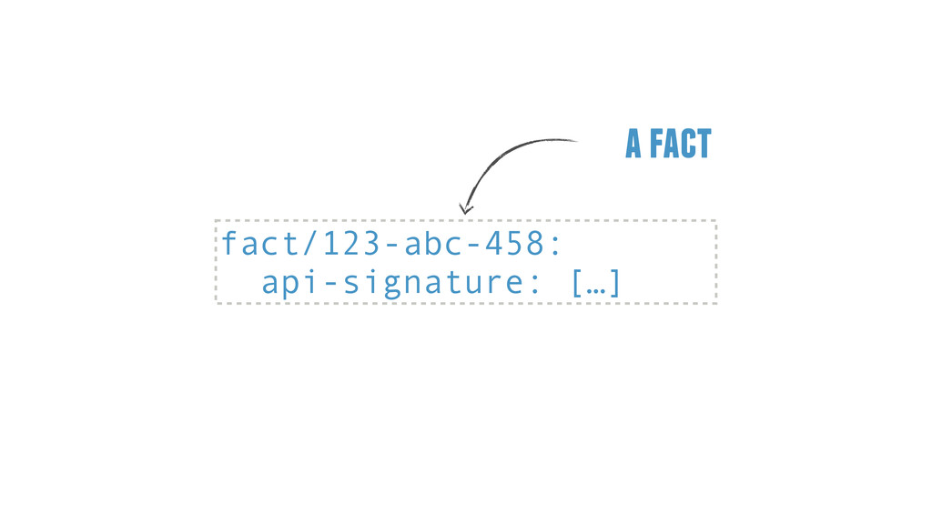 fact/123-abc-458: api-signature: […] a fact