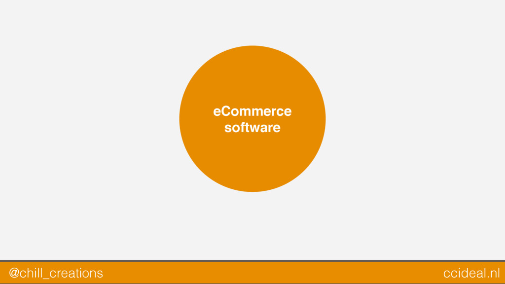eCommerce software @chill_creations ccideal.nl
