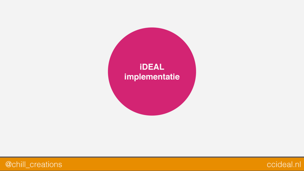 iDEAL implementatie @chill_creations ccideal.nl