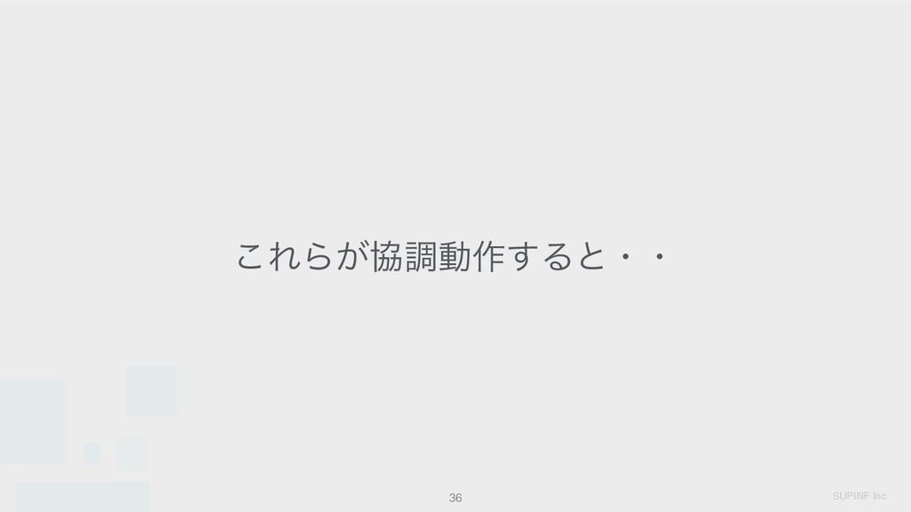 SUPINF Inc 36 ͜ΕΒ͕ڠௐಈ࡞͢Δͱɾɾ