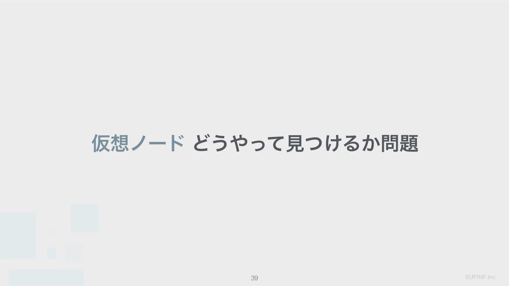 SUPINF Inc 39 Ծϊʔυ Ͳ͏ͬͯݟ͚ͭΔ͔
