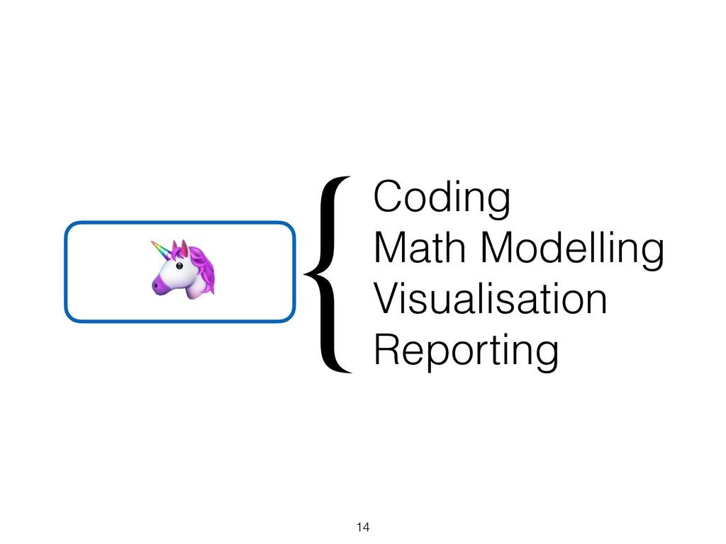Coding Math Modelling Visualisation Reporting {...