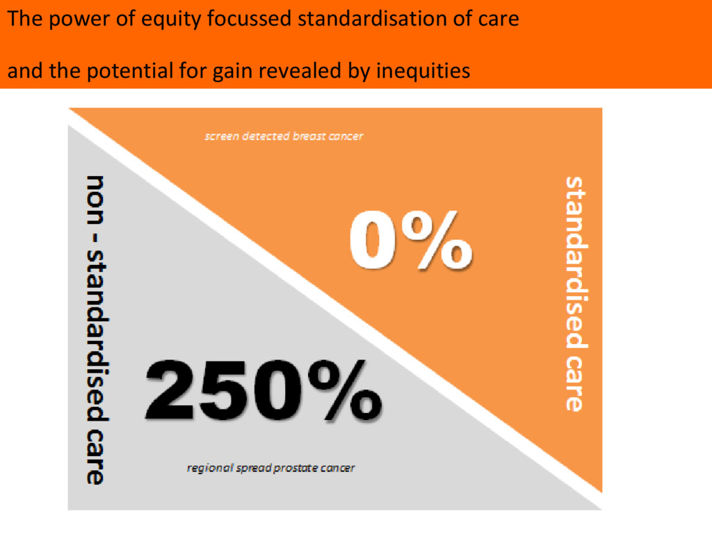 The power of equity focussed standardisation of...