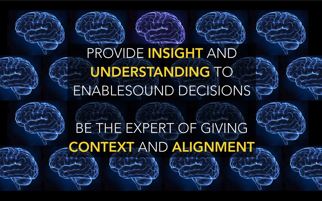 PROVIDE INSIGHT AND UNDERSTANDING TO ENABLESOUN...