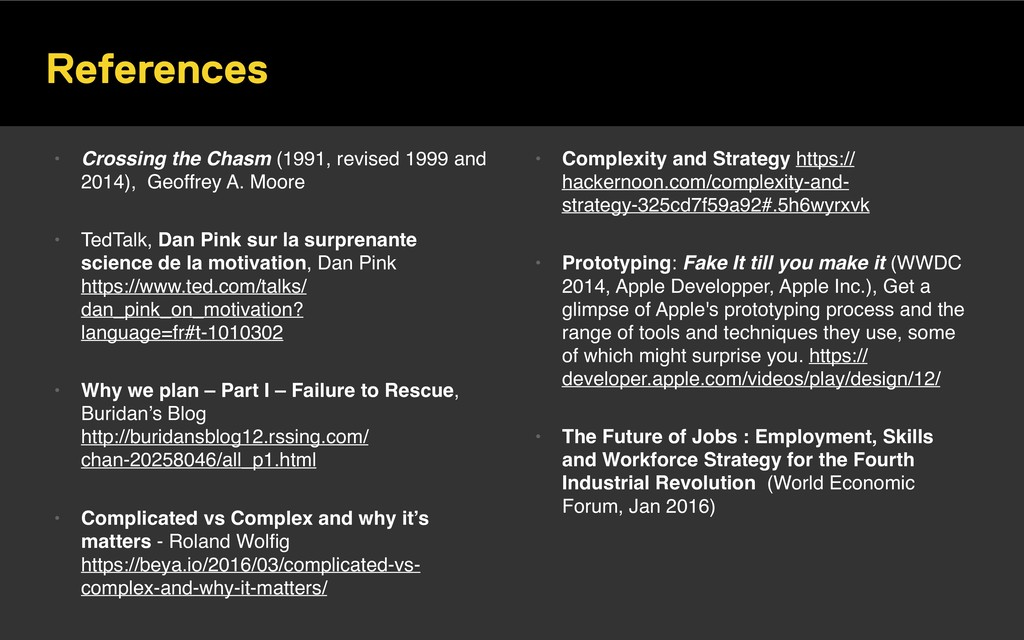 References • Crossing the Chasm (1991, revised ...