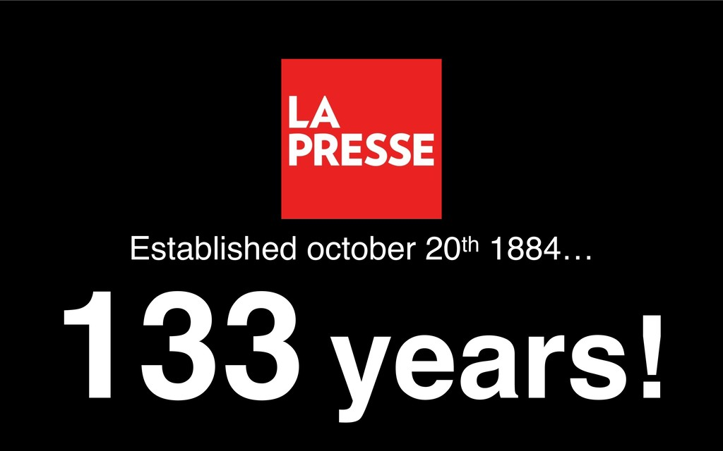 133 years! Established october 20th 1884…