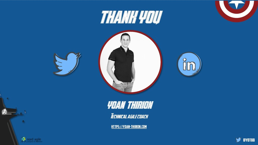 @yot88 thank you yoan thirion Technicalagile co...