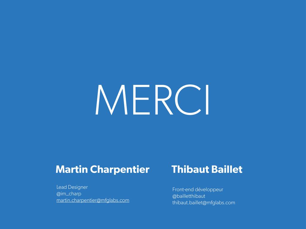 MERCI Front-end développeur @bailletthibaut thi...