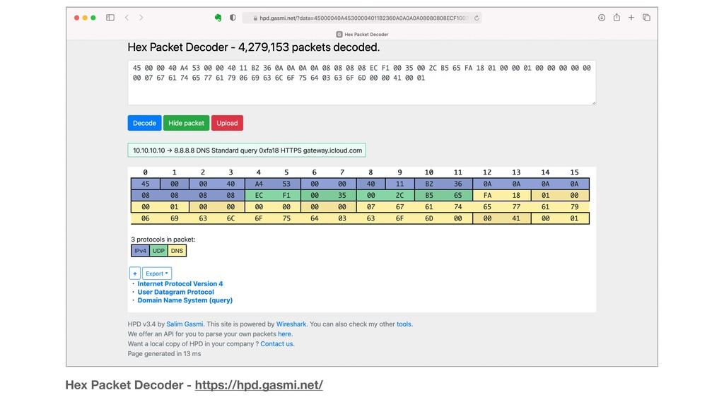 Hex Packet Decoder - https://hpd.gasmi.net/
