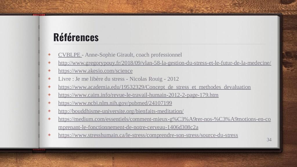 Références ◈ CVBLPE - Anne-Sophie Girault, coac...
