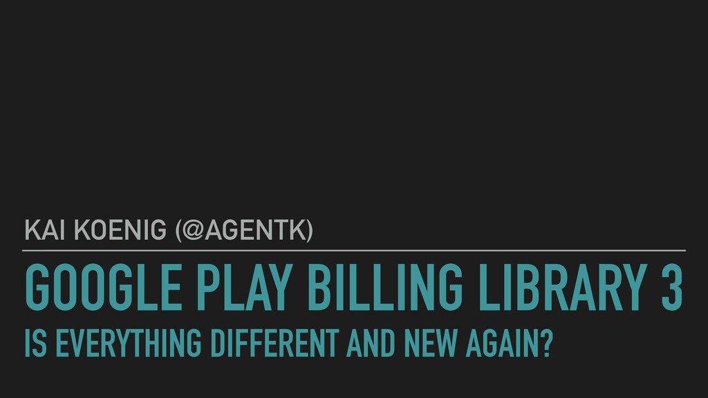 GOOGLE PLAY BILLING LIBRARY 3  IS EVERYTHING D...