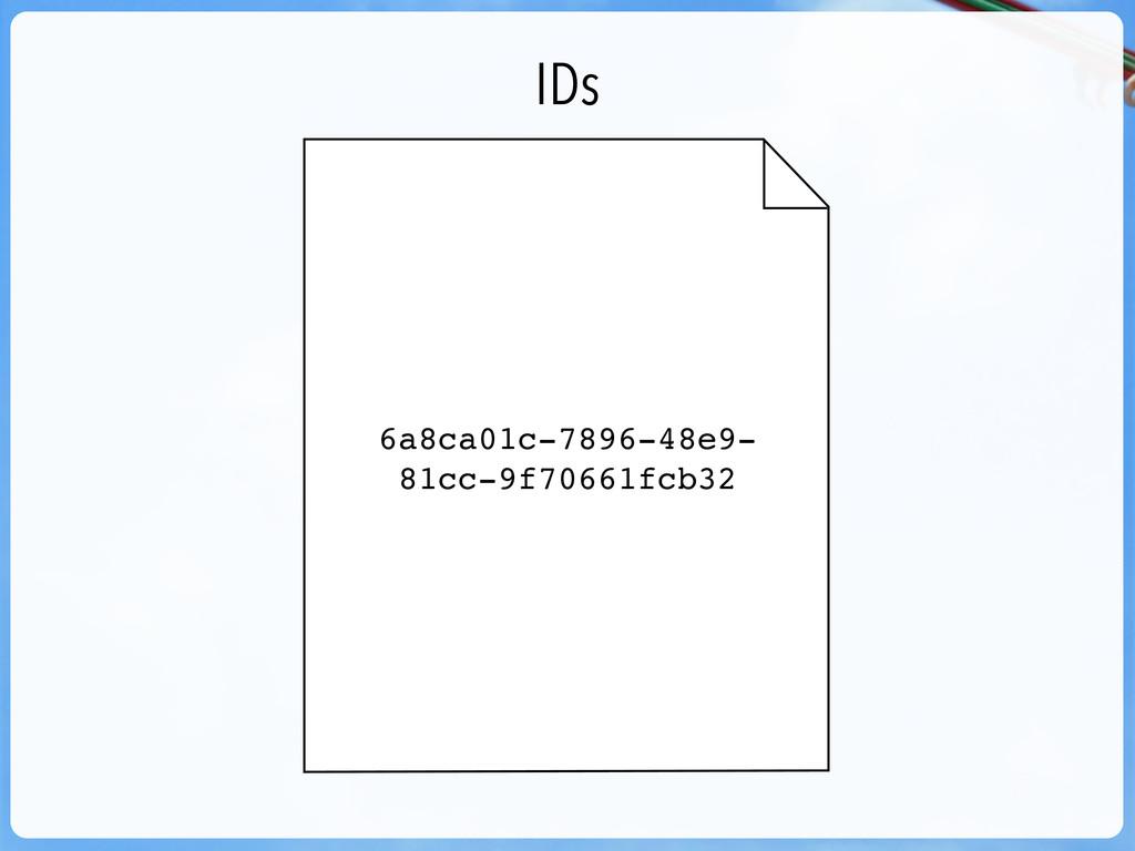 IDs 6a8ca01c-7896-48e9- 81cc-9f70661fcb32