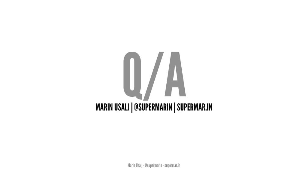 Q/A MARIN USALJ | @SUPERMARIN | SUPERMAR.IN Mar...