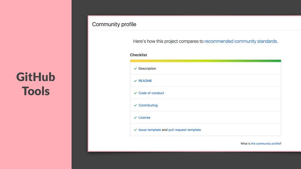GitHub Tools