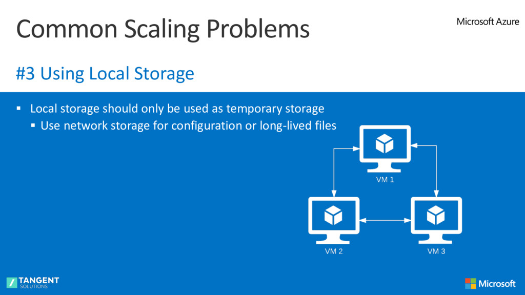 § Local storage should only be used as temporar...