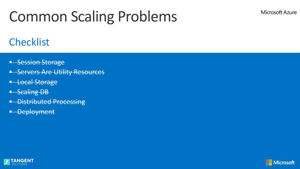 § Session Storage § Servers Are Utility Resourc...