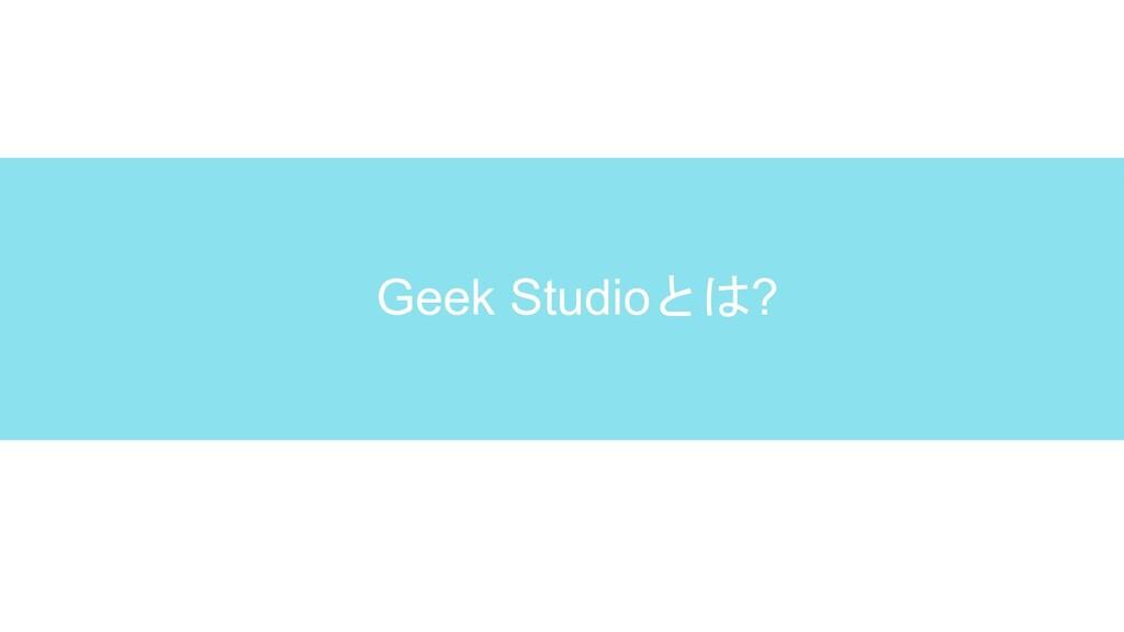 Geek Studioとは?