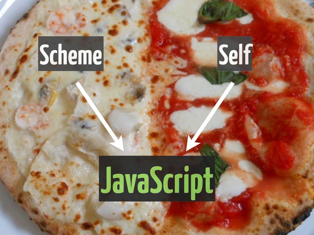JavaScript Scheme Self