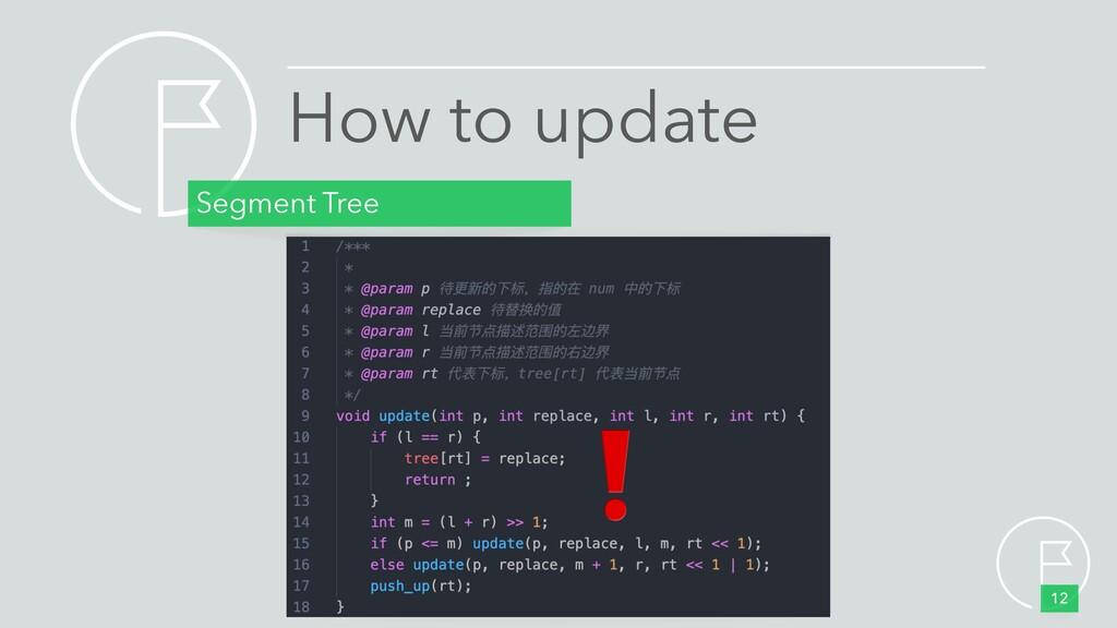 How to update Segment Tree 12 ❗