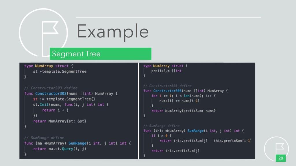 Segment Tree 20 Example