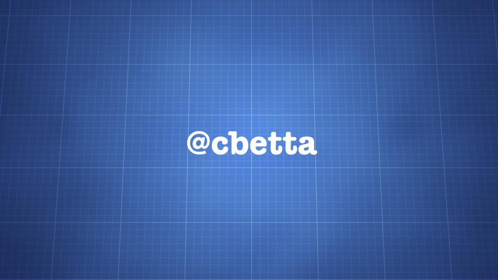 @cbetta