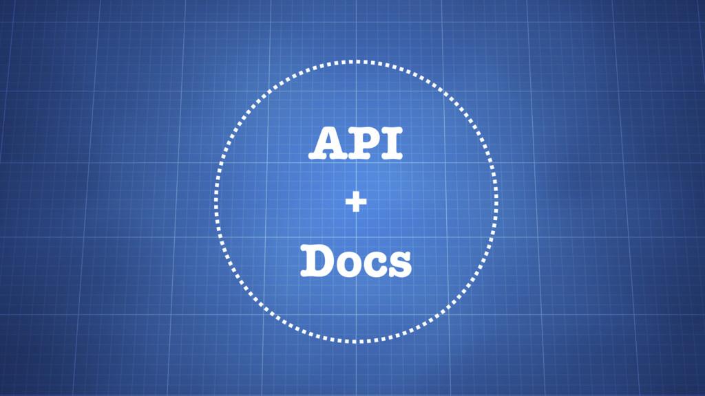 API + Docs