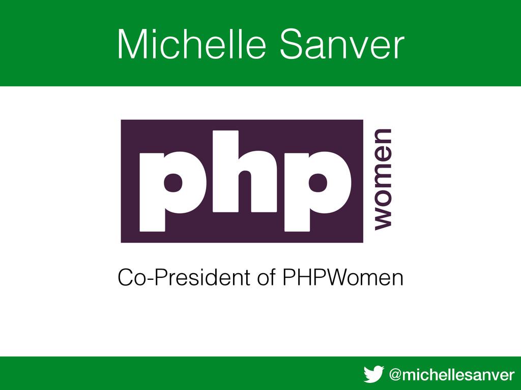 @michellesanver Michelle Sanver Body Text Co-Pr...