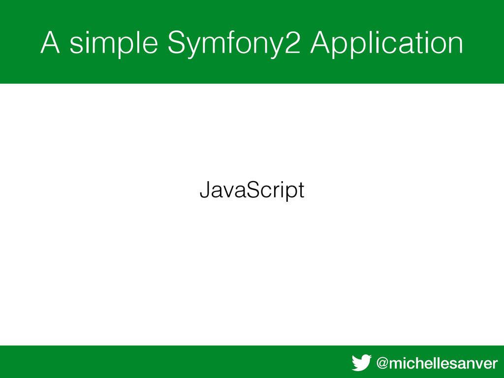 @michellesanver A simple Symfony2 Application J...