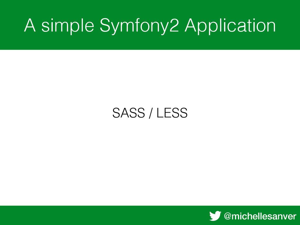 @michellesanver A simple Symfony2 Application S...