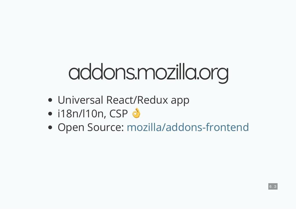 addons.mozilla.org addons.mozilla.org Universal...