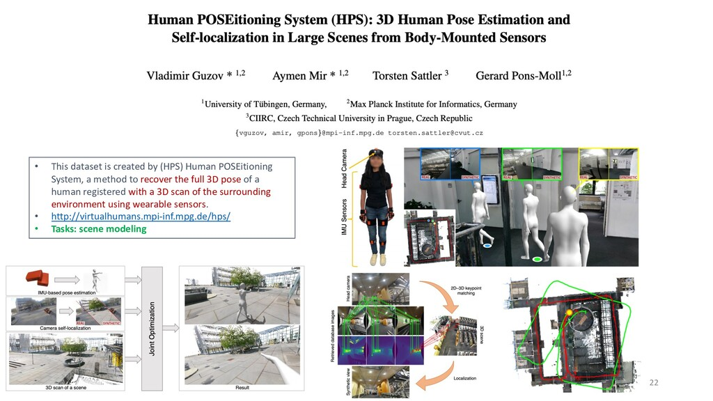 22 • This dataset is created by (HPS) Human POS...