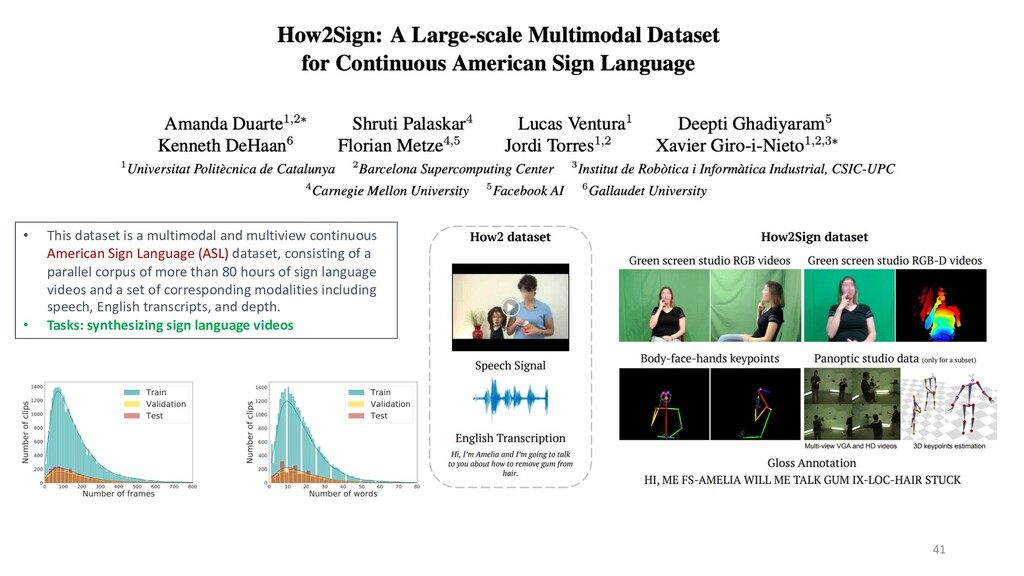 41 • This dataset is a multimodal and multiview...