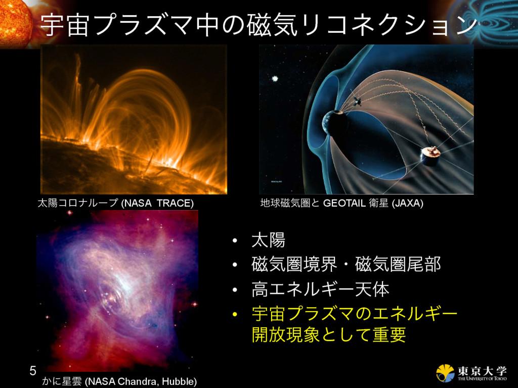 ӉϓϥζϚதͷ࣓ؾϦίωΫγϣϯ 5 ଠཅίϩφϧʔϓ (NASA TRACE) ͔ʹӢ ...