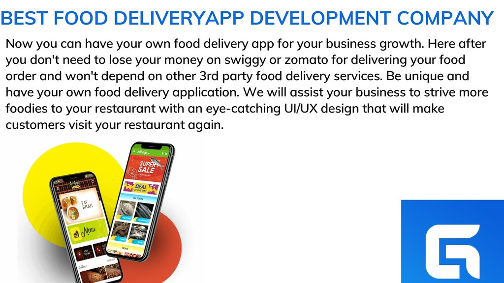 Now you can have your own food delivery app for...