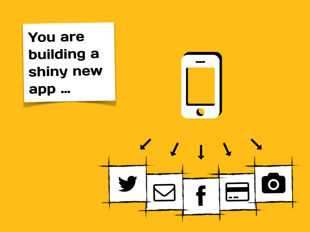 You are building a shiny new app … # $ % % % % ...