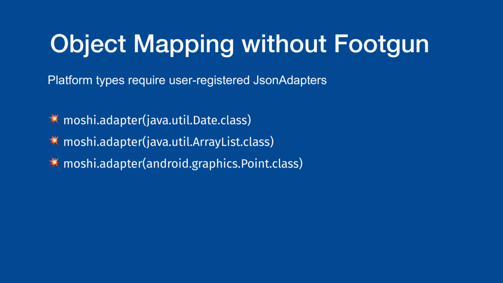 Object Mapping without Footgun Platform types r...