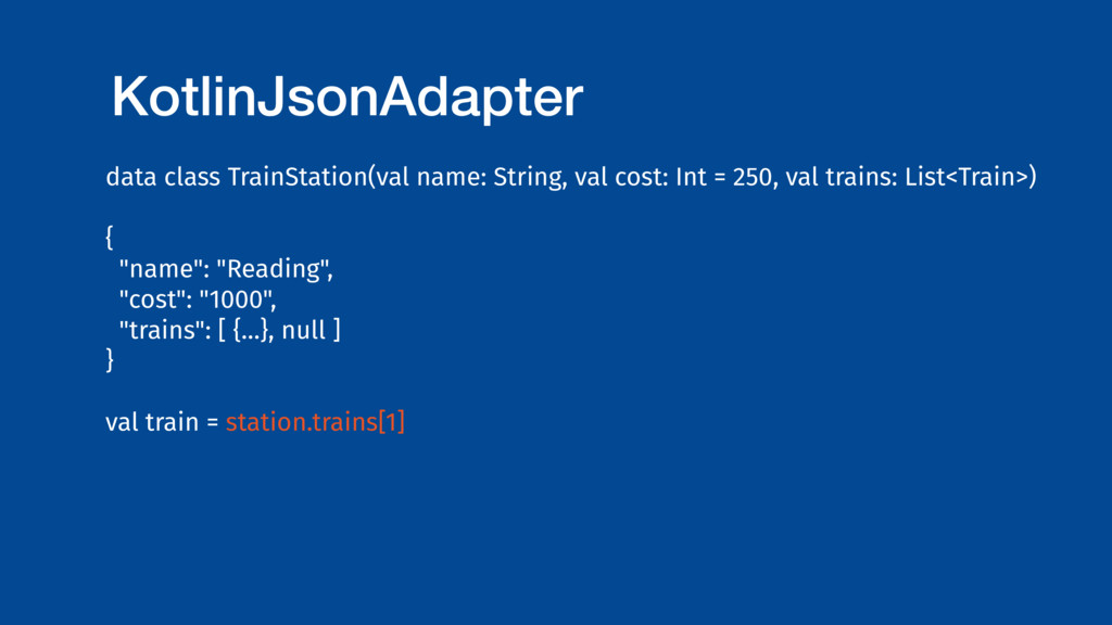 KotlinJsonAdapter data class TrainStation(val n...