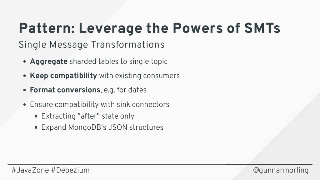Pattern: Leverage the Powers of SMTs Pattern: L...