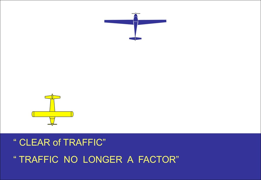 """"""" CLEAR of TRAFFIC"""" """" TRAFFIC NO LONGER A FACTO..."""